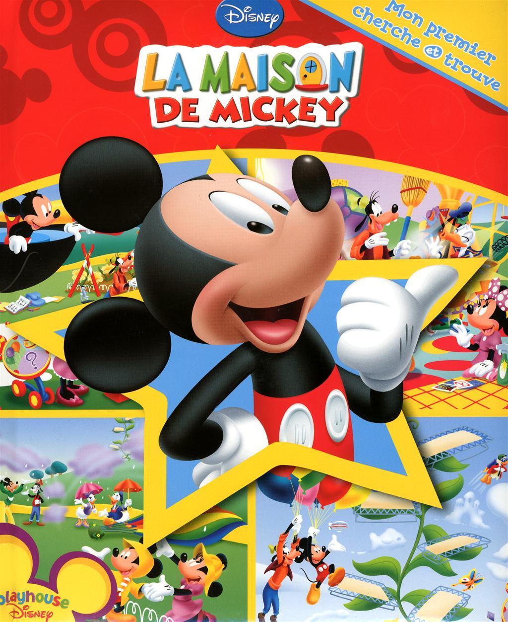 Livre La Maison De Mickey Mon Premier Cherche Et Trouve