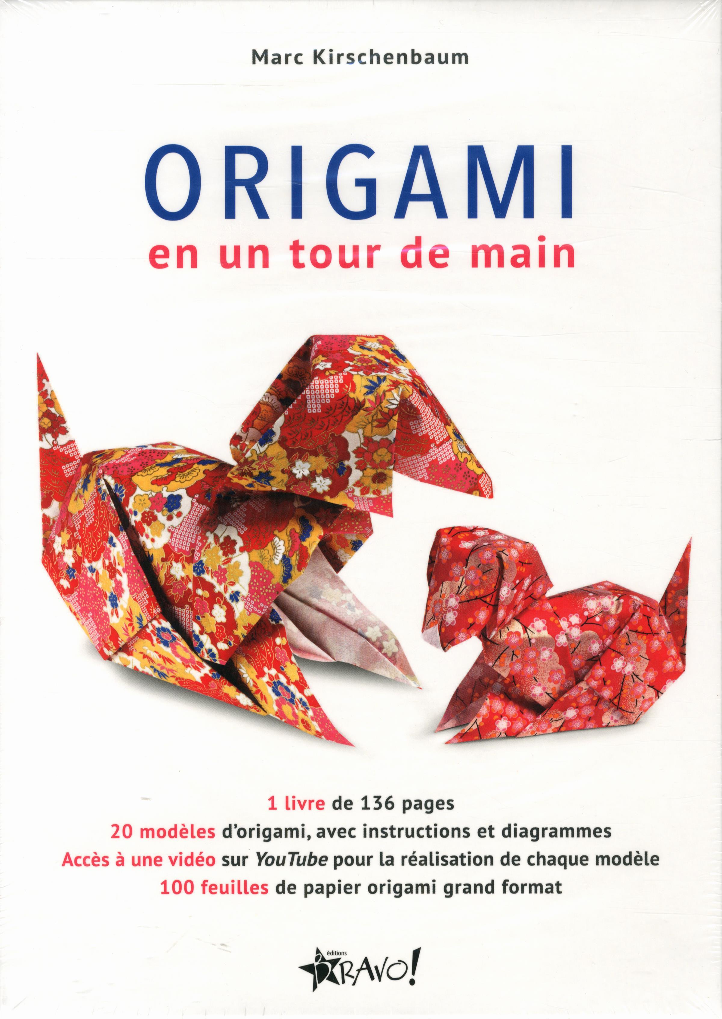 966764d766fd0a Livre Coffret - Origami en un tour de main   Messageries ADP