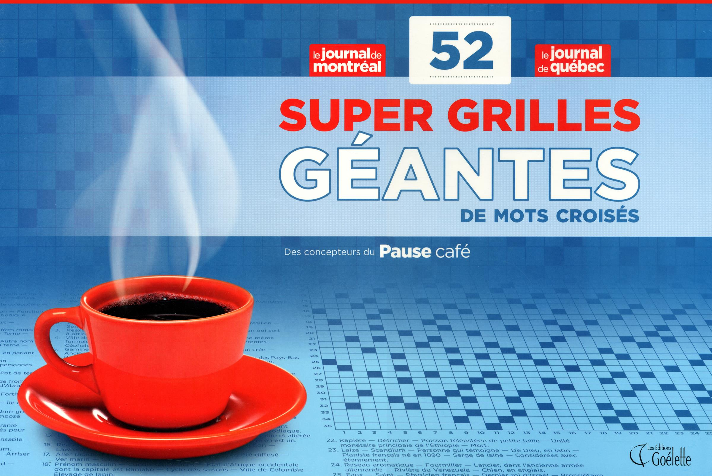 Livre 52 super grilles g antes de mots crois s en - Grilles de mots croises gratuites a imprimer ...