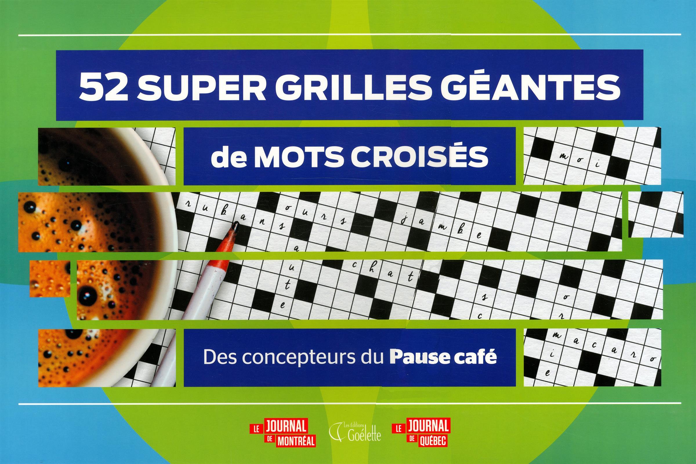 Livre 52 super grilles g antes de mots crois s vol 3 messageries adp - Grilles mots croises a imprimer ...
