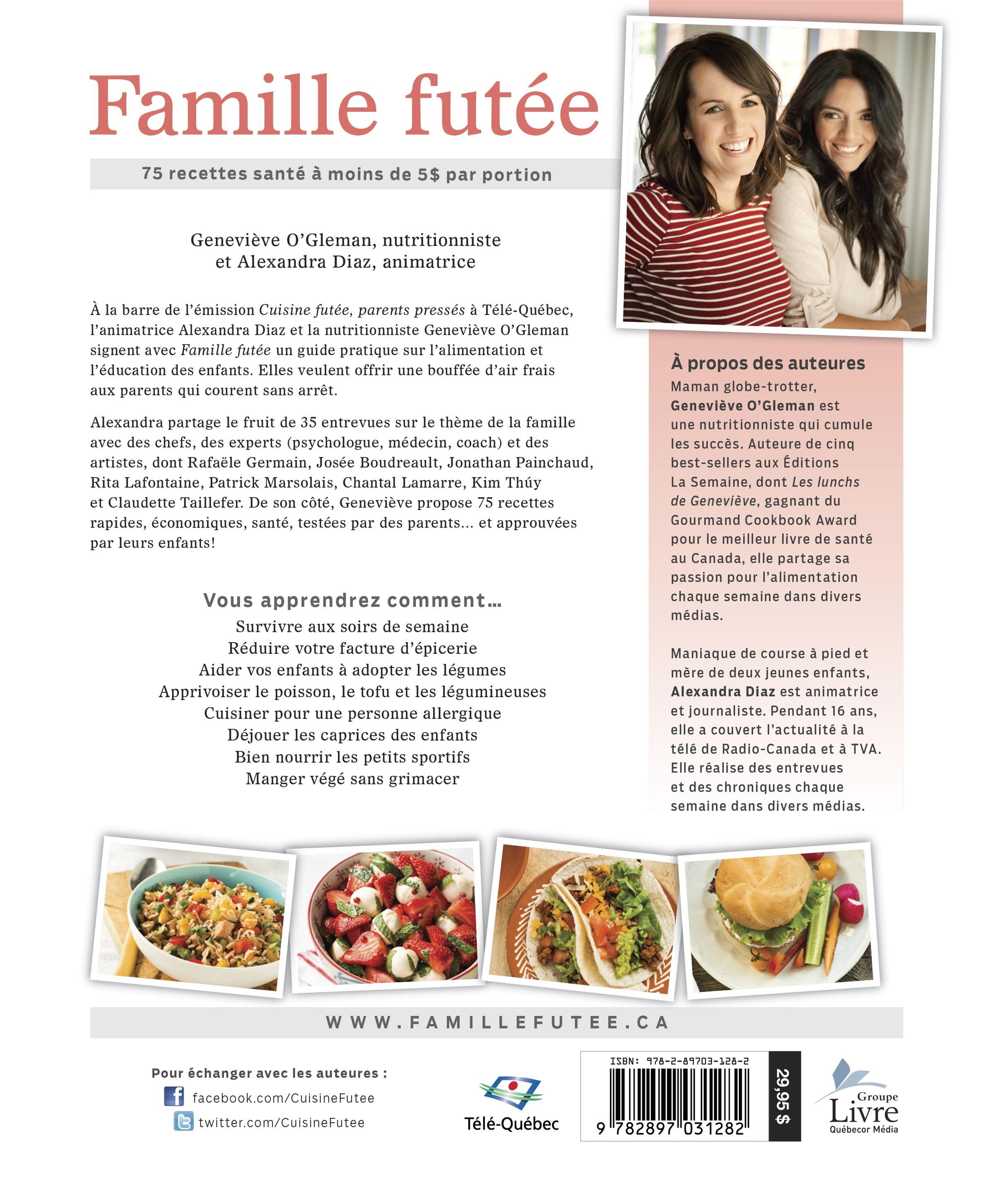 Livre Famille Futee 75 Recettes Sante A Moins De 5 Par Portion