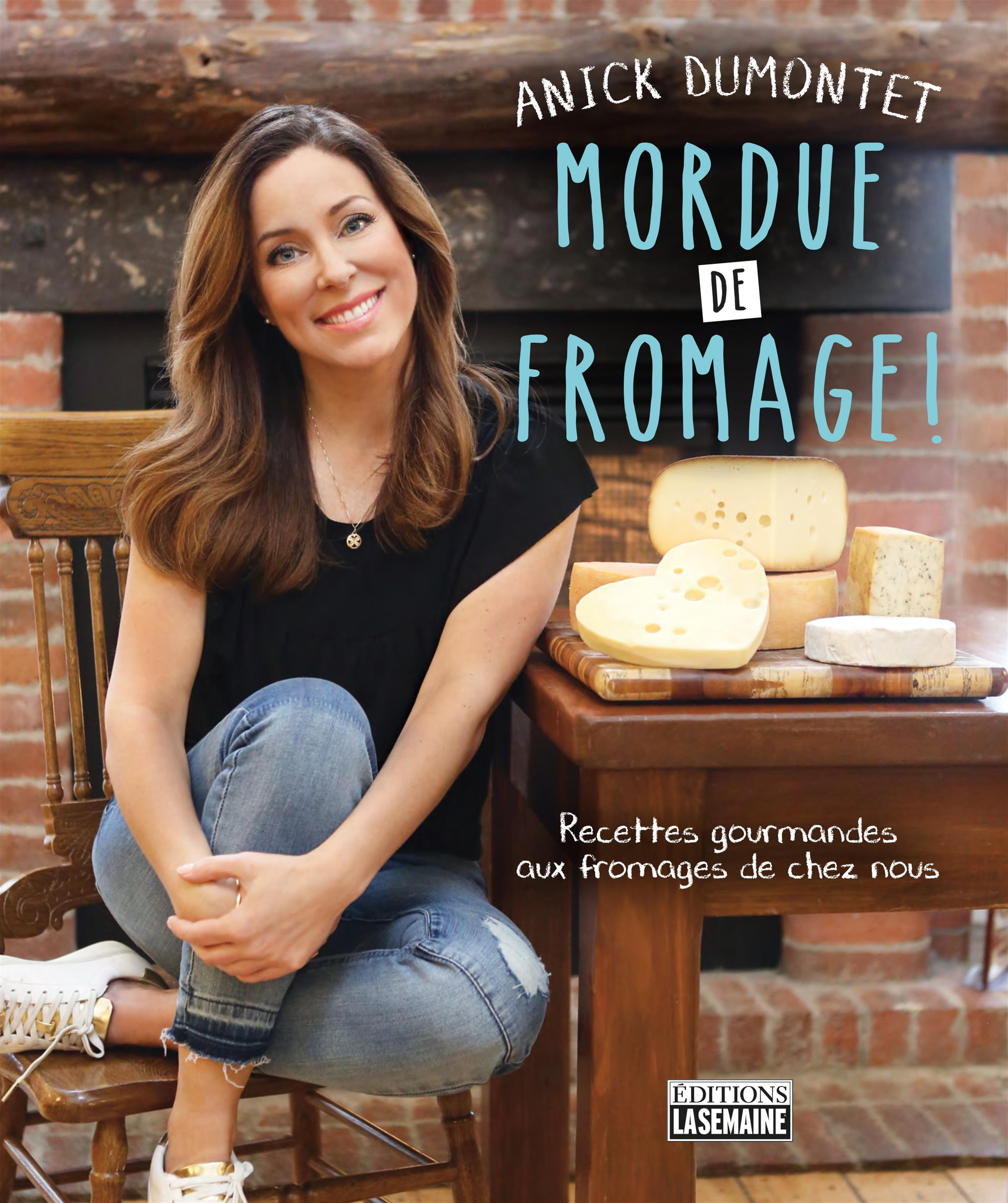Mordue de fromage !