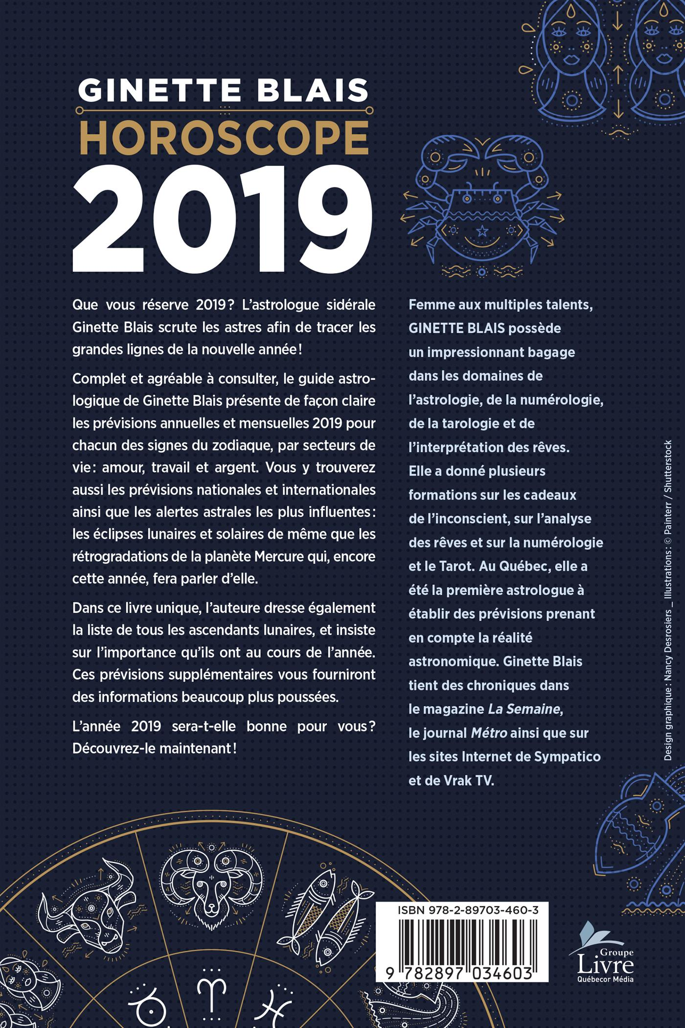 4555c87269920 Livre Horoscope 2019