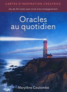 Boîtier - Oracles au quotidien - Cartes d'inspiration créatrice