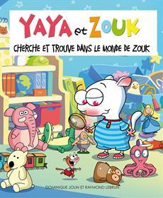 Livre Cherche et trouve dans le monde de Zouk