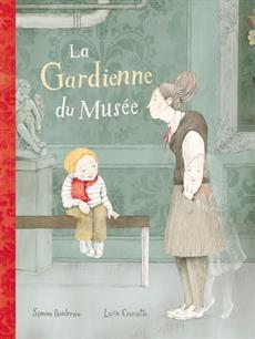 Livre La gardienne du musée