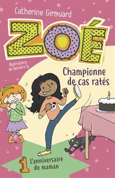 Livre Zoé, championne de cas ratés 1