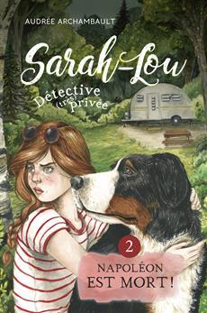 Livre Sarah-Lou, détective (très) privée 2