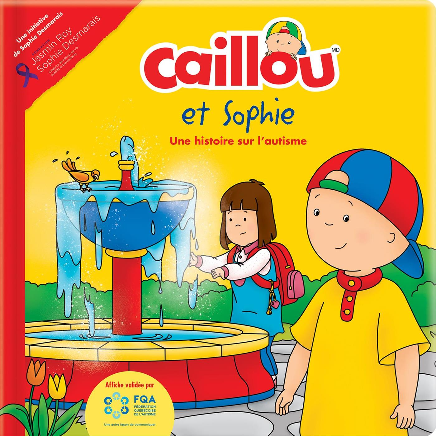 Livre Caillou Et Sophie Une Histoire Sur L Autisme