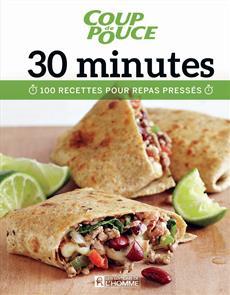 30 minutes - 100 recettes pour repas pressés