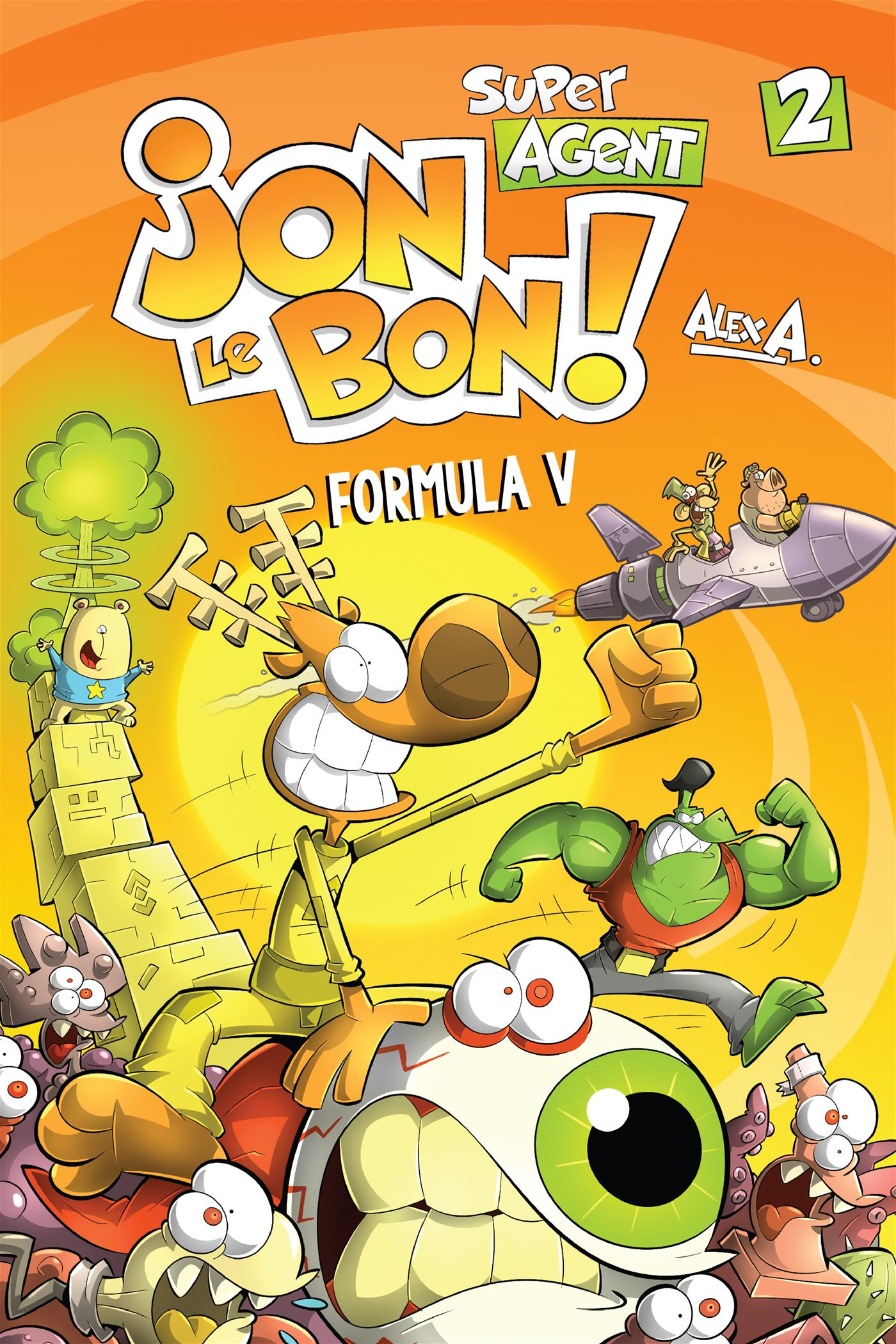 Jon Le Bon Vol 2. Formula V
