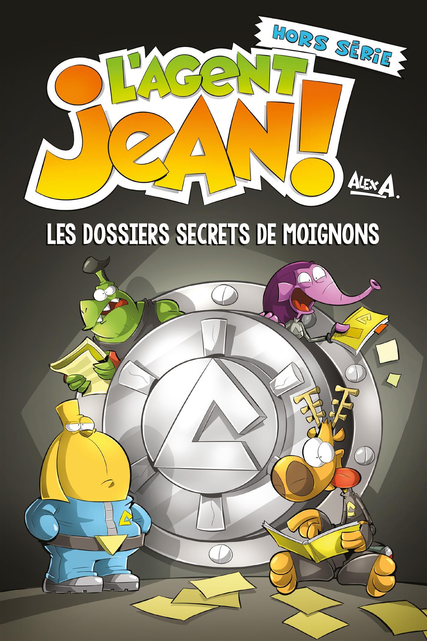 L'Agent Jean - Les dossiers secrets de Moignons