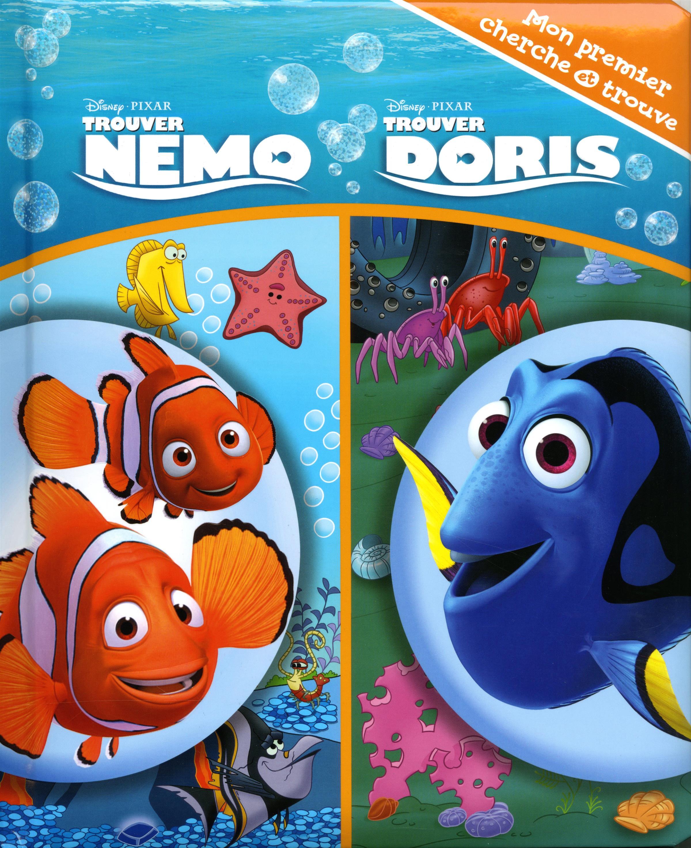 Livre trouver nemo trouver doris messageries adp - Nemo et doris ...
