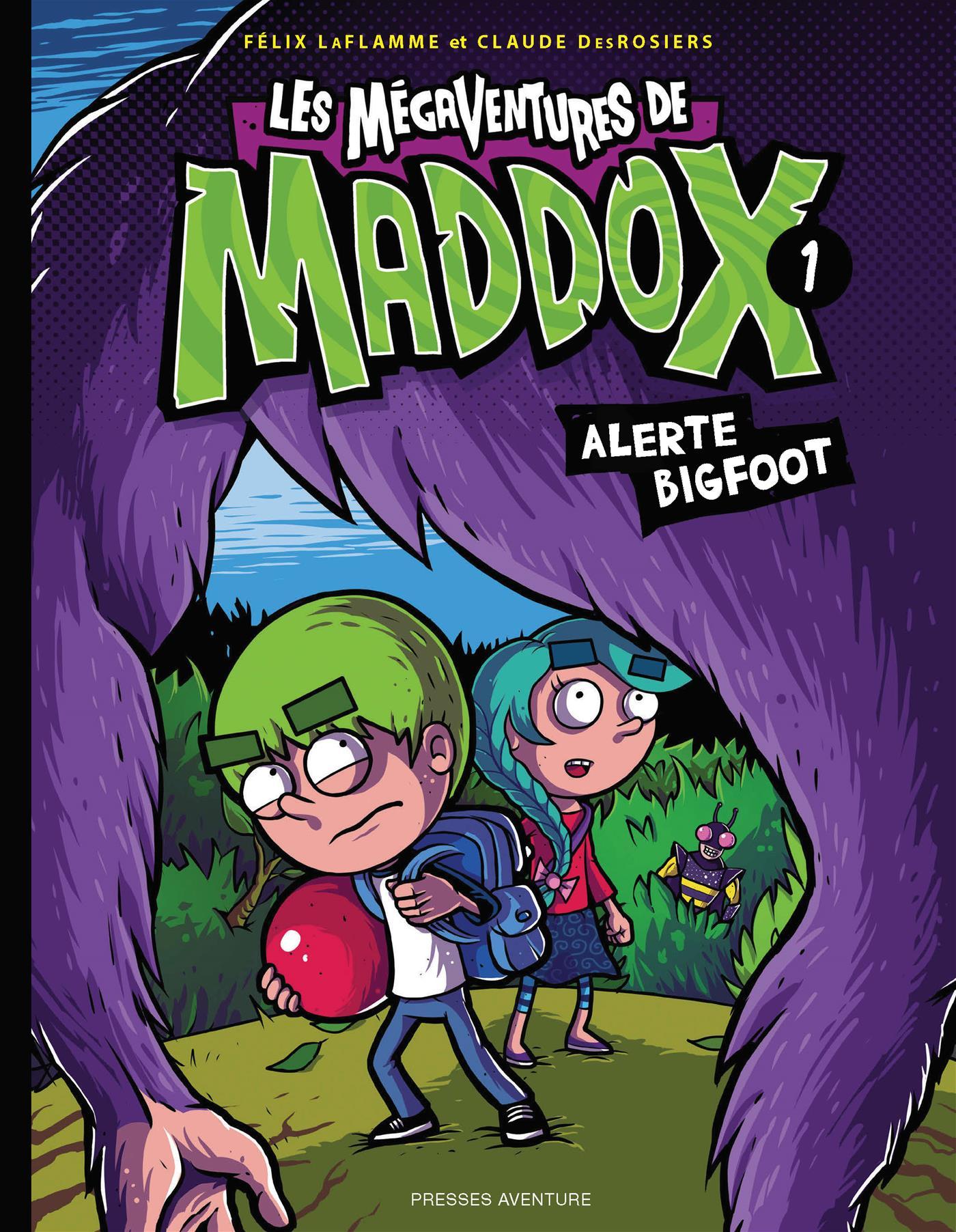 Les Mégaventures de Maddox - Tome 1. Alerte Bigfoot