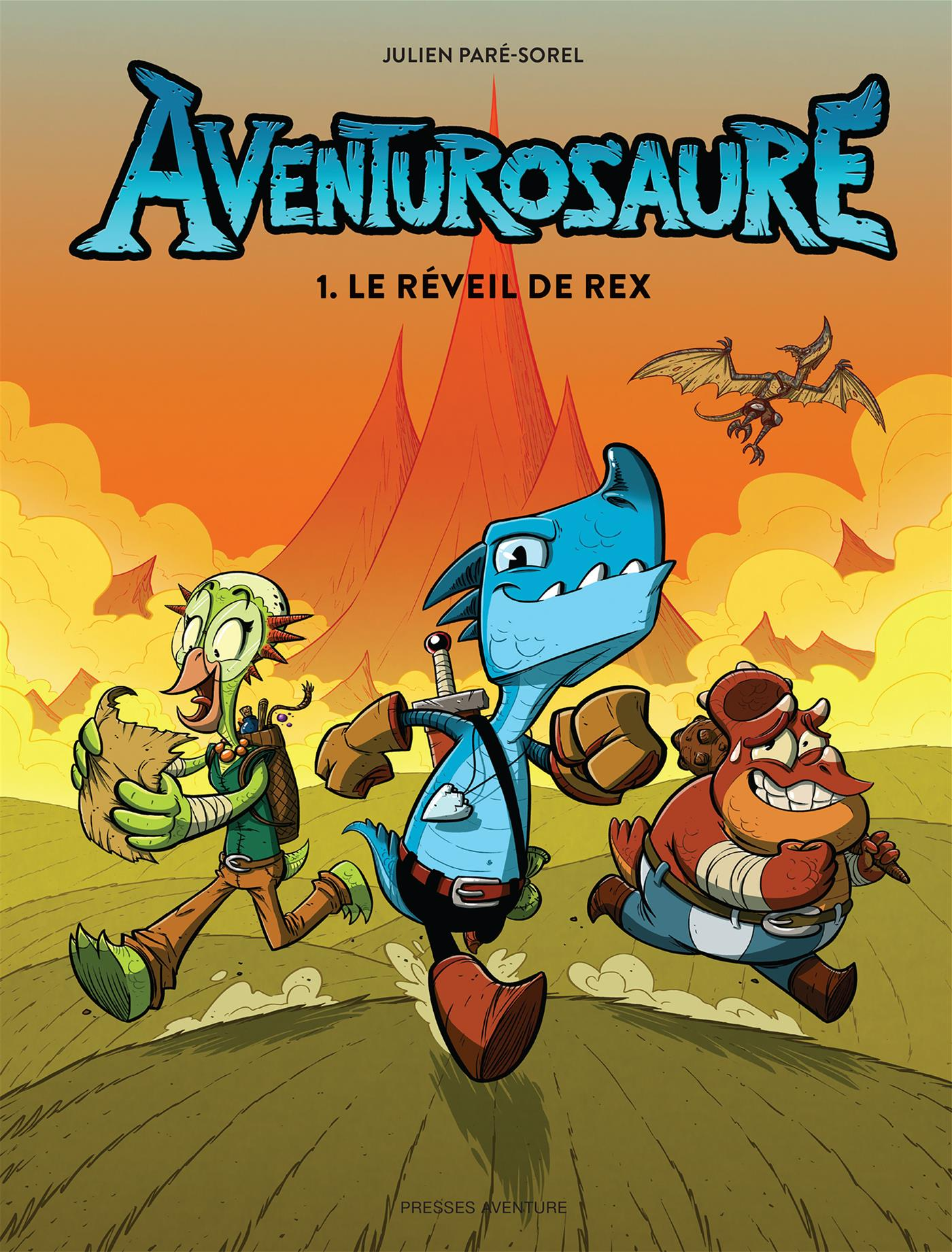Aventurosaure - Tome 1