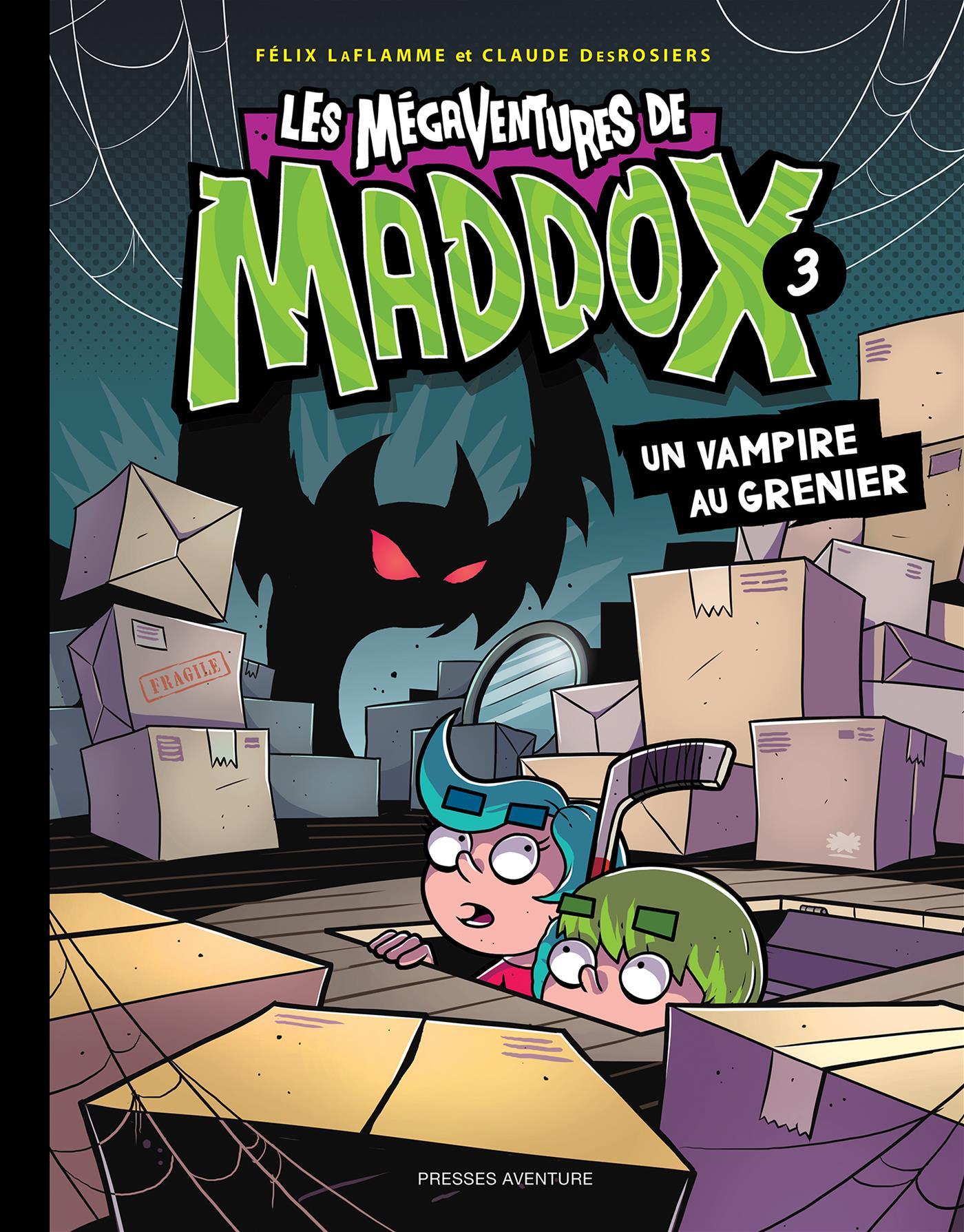Les mégaventures de Maddox - Nº 3