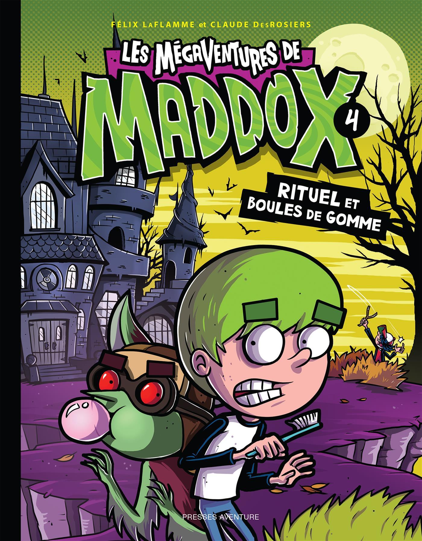 Les mégaventures de Maddox - Nº 4