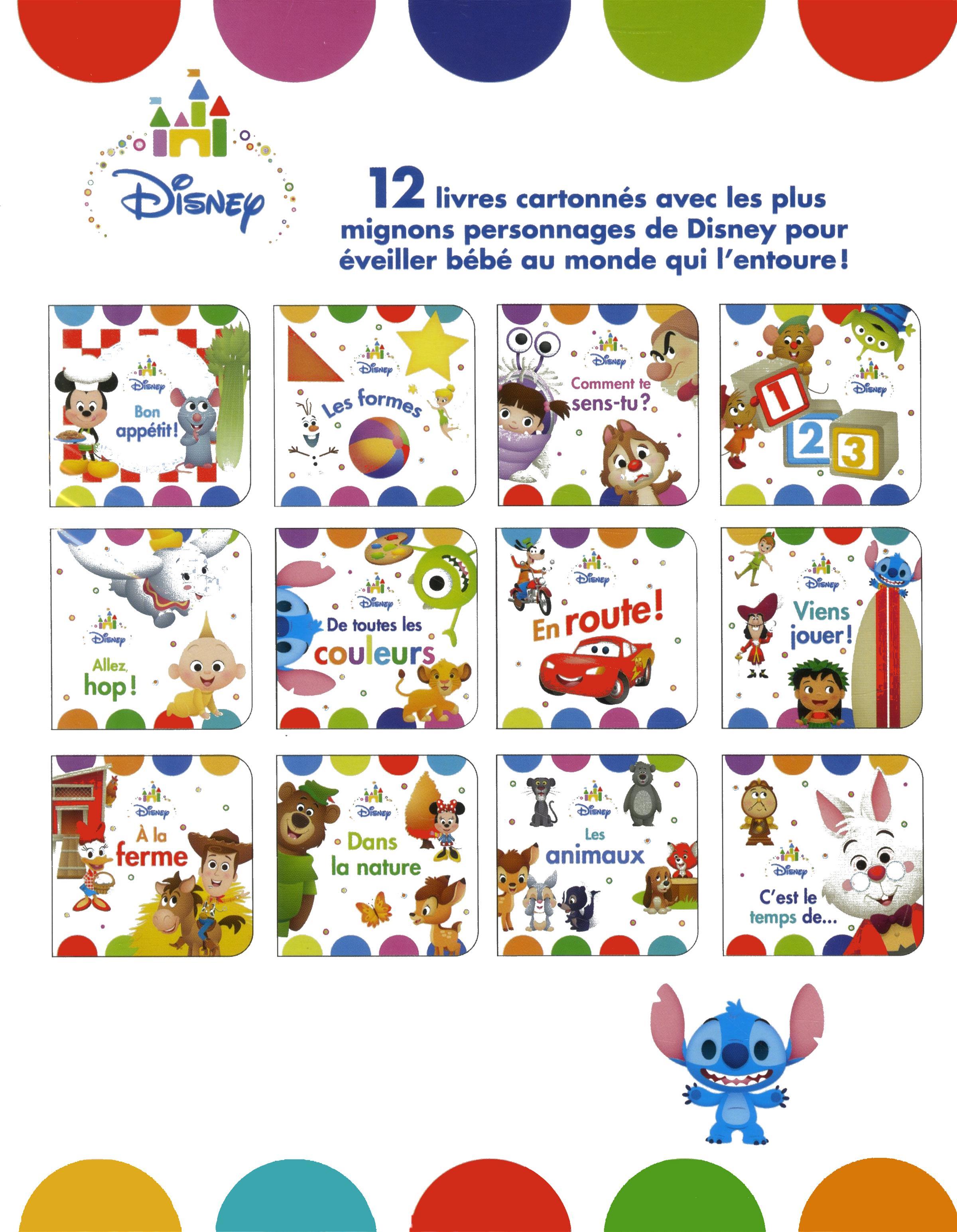 Livre Coffret Ma Premiere Bibliotheque Disney