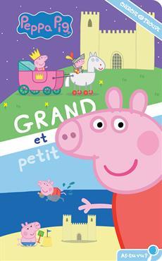 Livre Peppa Pig Grand Et Petit Cherche Et Trouve Messageries Adp