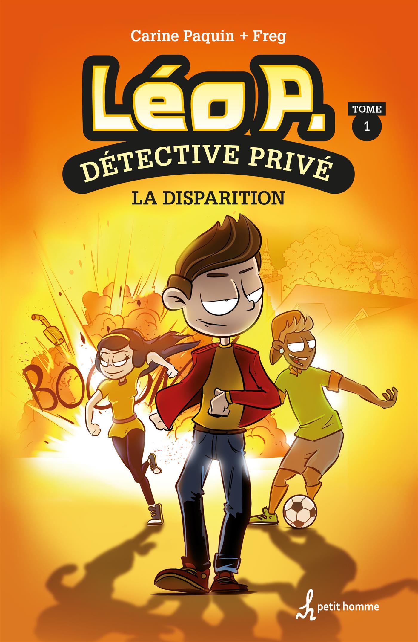 Léo P., détective privé - Tome 1