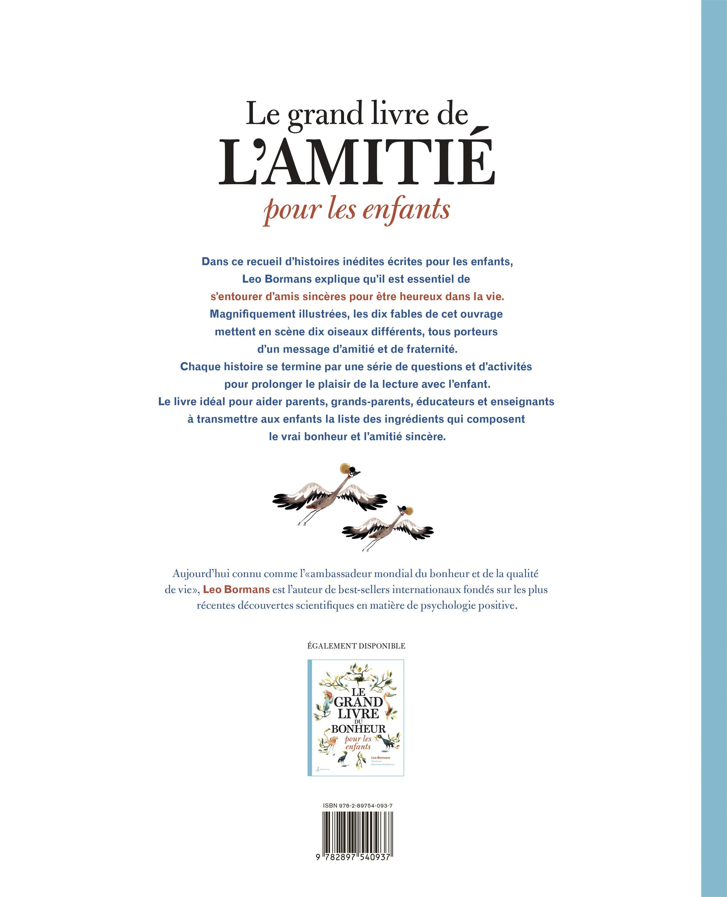 Livre Le Grand Livre De L Amitie Pour Les Enfants Petit Homme