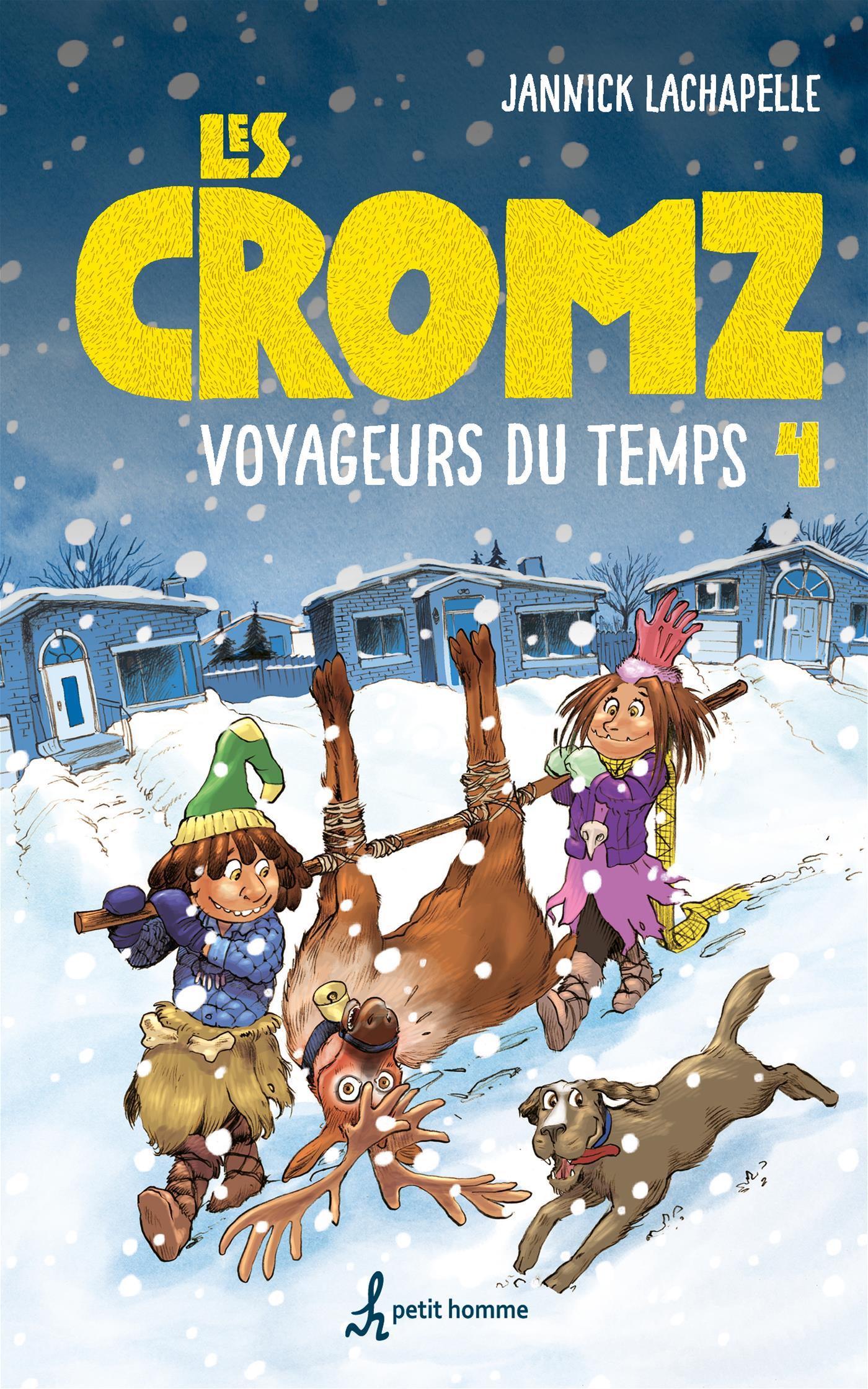 Image de couverture (Cromz tome 4 - Voyageurs du temps)
