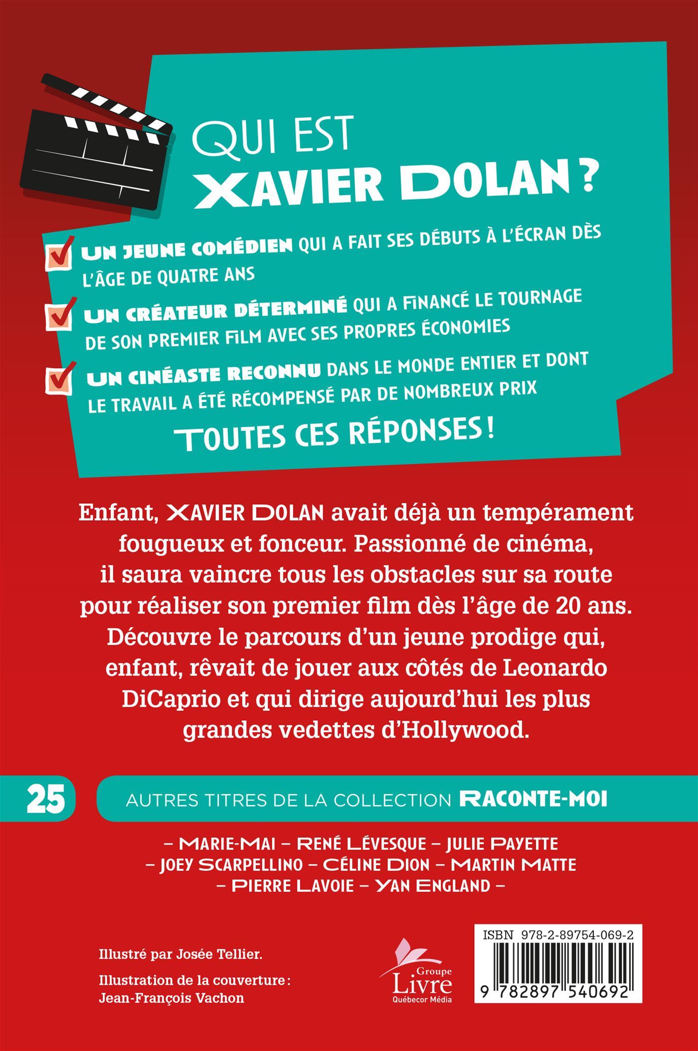 Livre Numerique Epub Raconte Moi Xavier Dolan Petit Homme