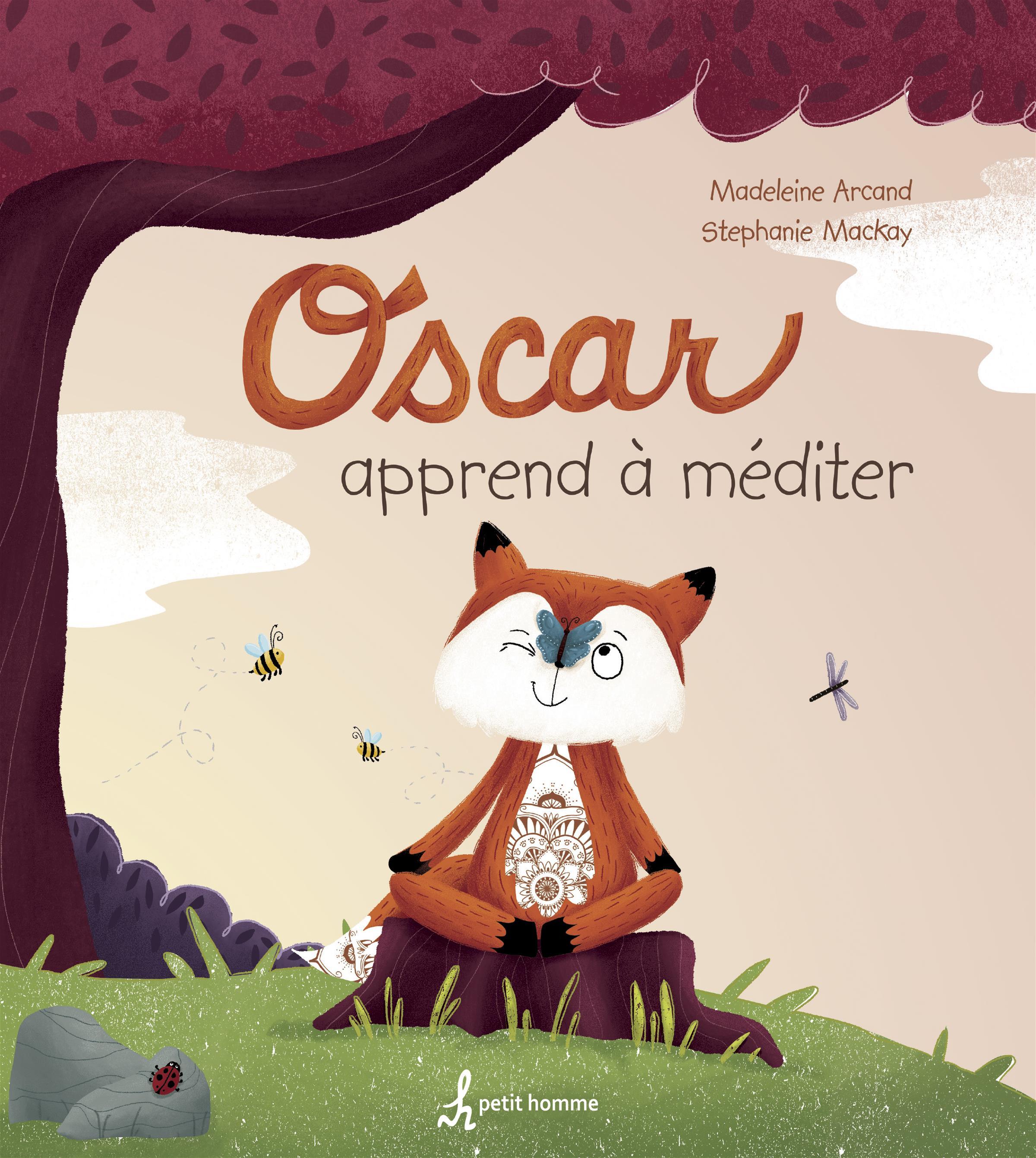 Image de couverture (Oscar apprend à méditer)