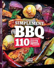Simplement BBQ - 110 recettes du Journal de Montréal
