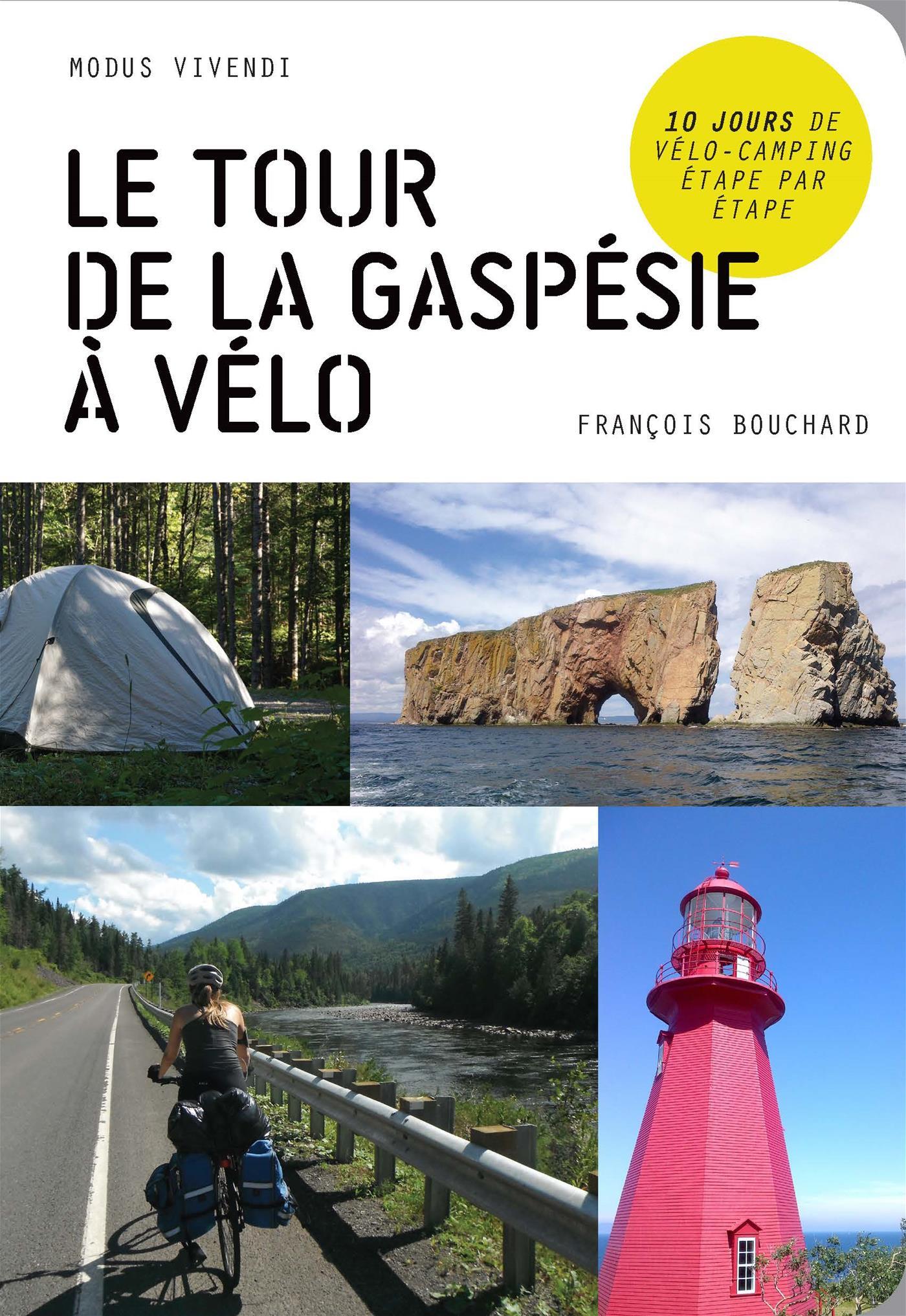 Le tour de la Gaspésie à vélo