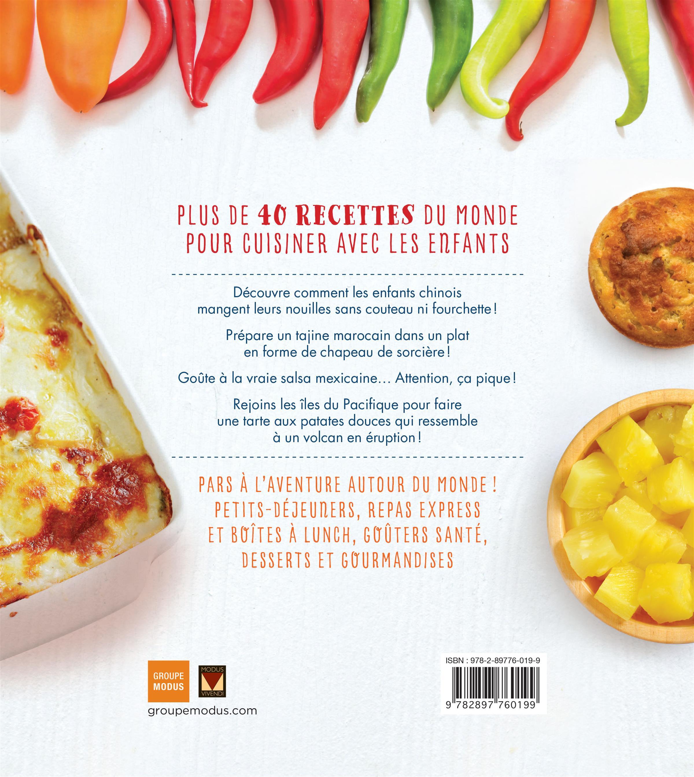 livre cuisine du monde pour petits et grands | messageries adp