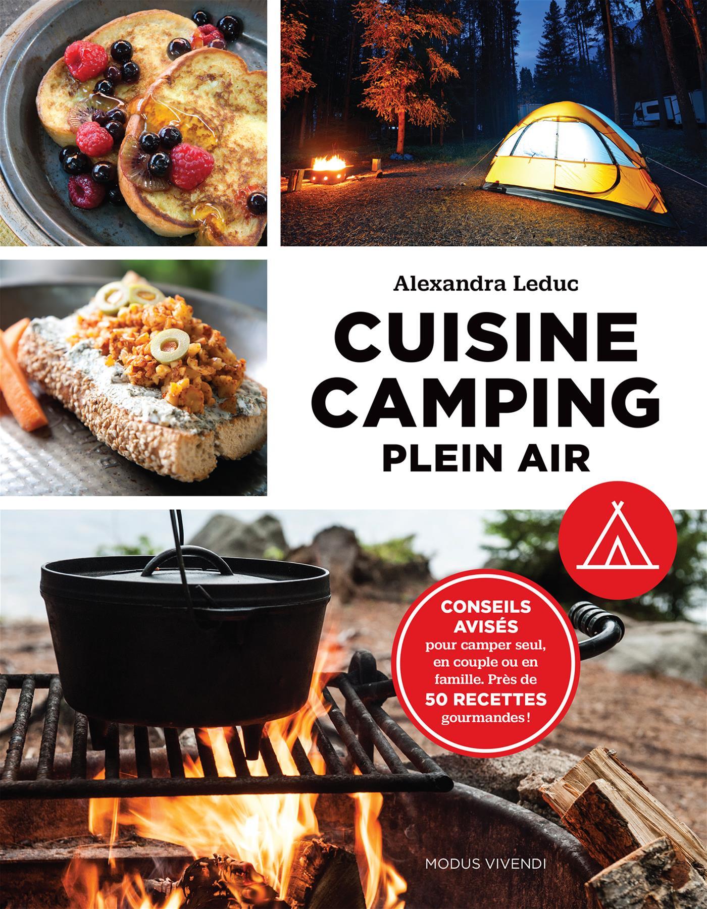 Cuisine camping plein air