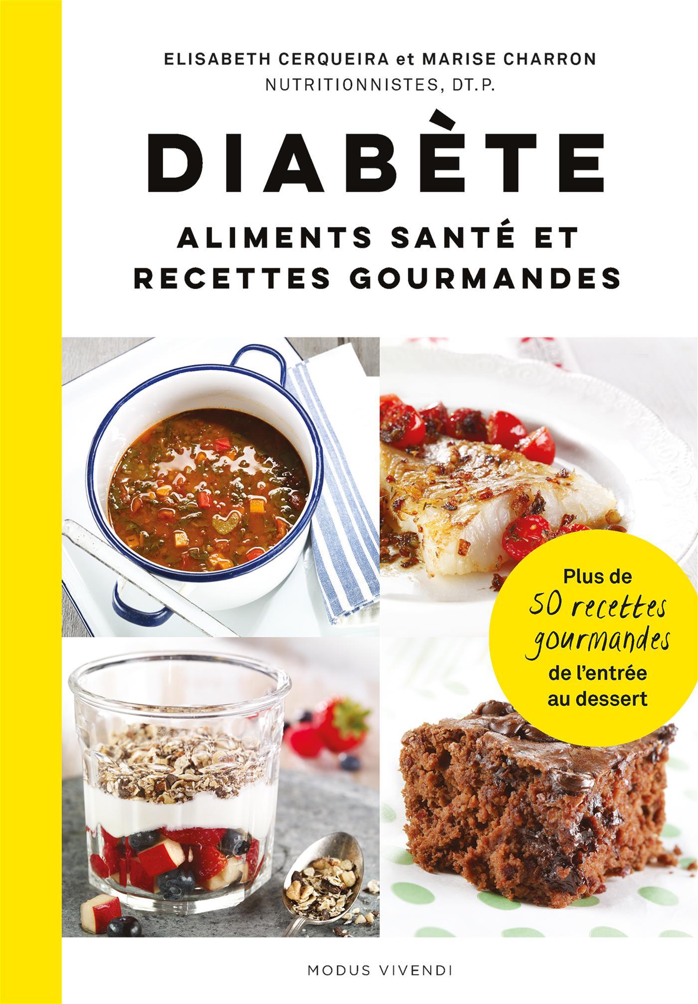 Cover image (Diabète: aliments santé et recettes gourmandes)