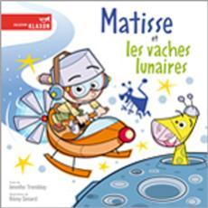 Livre Matisse et les vaches lunaires