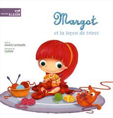 Livre Margot et la leçon de tricot