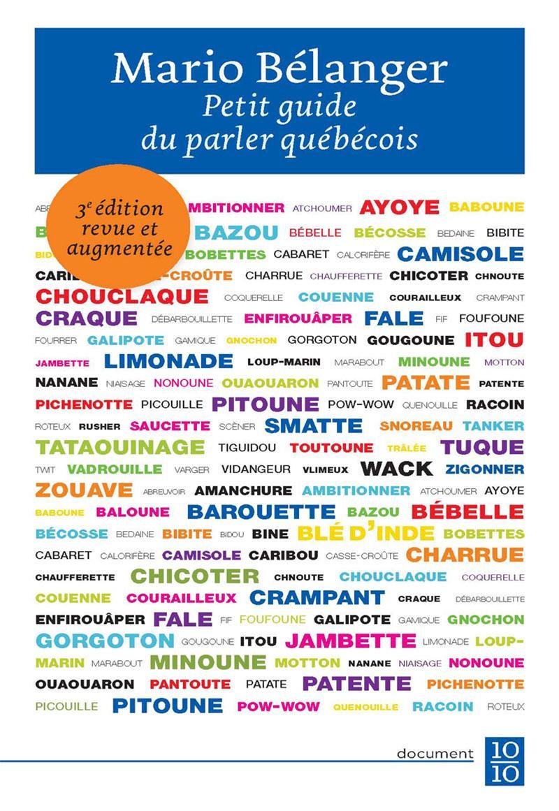 Petit guide du parler québécois
