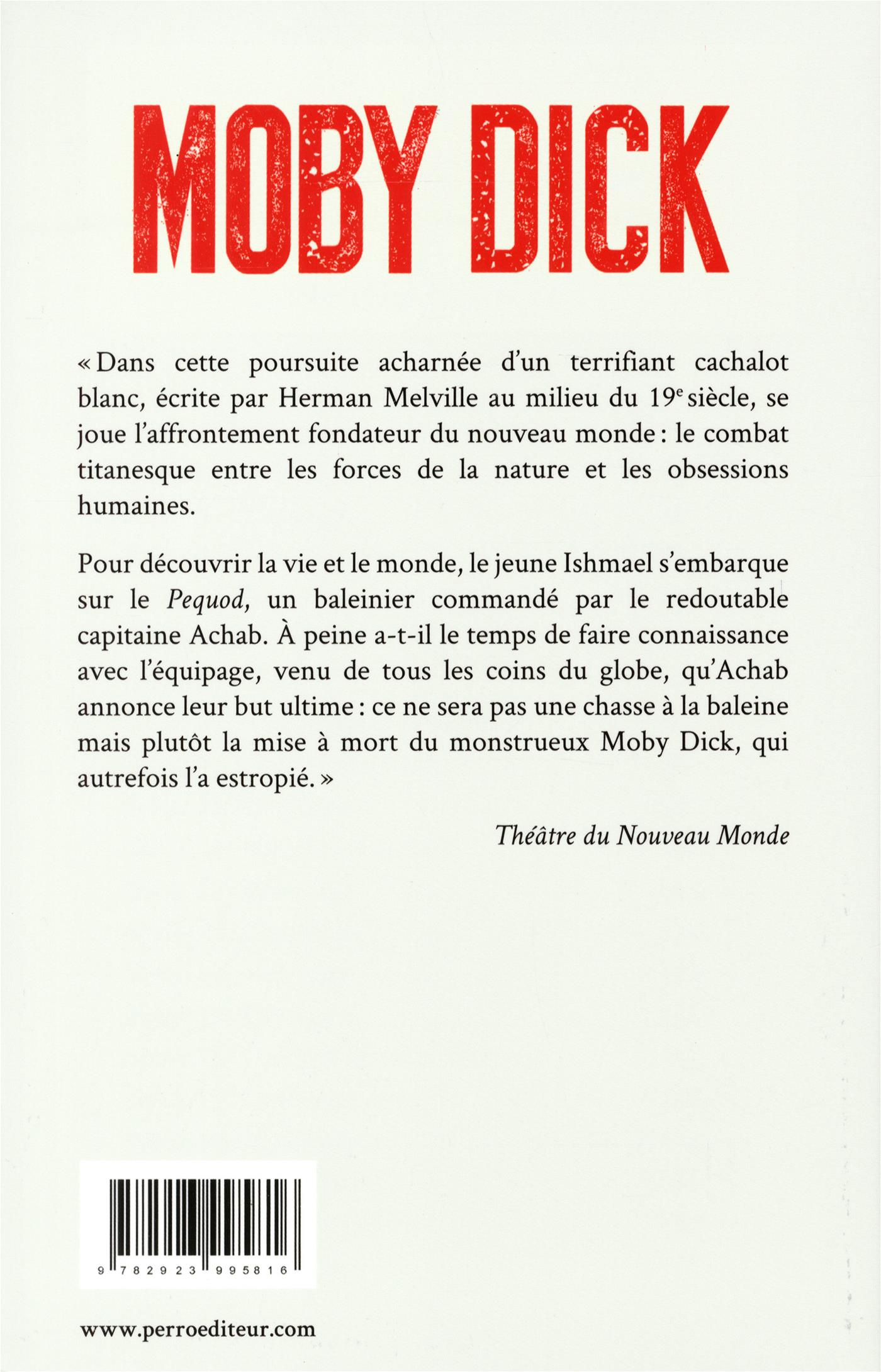 Moby dick livre couvre