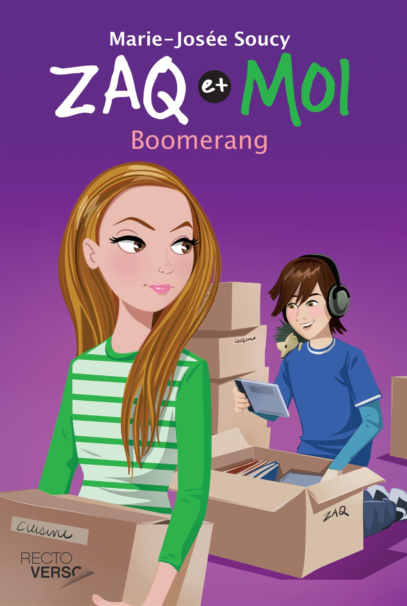 Zaq et moi - Tome 4