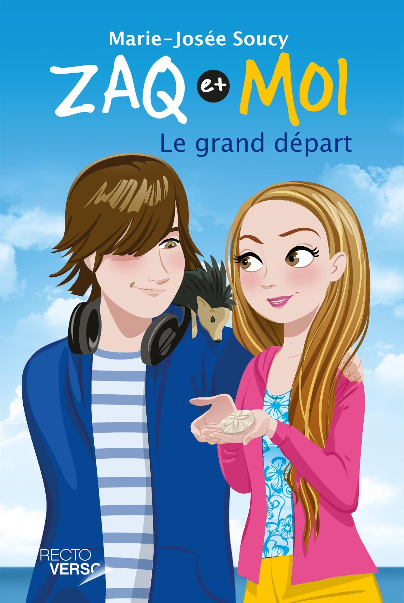 Image de couverture (Zaq et moi Tome 6 - Le grand départ)