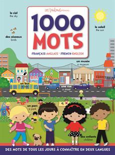 Livre 1000 Mots Francais Anglais French English